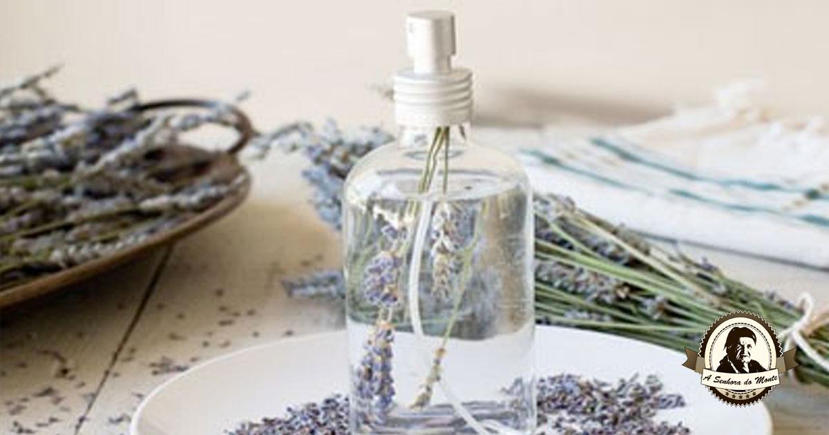 Aprenda a fazer perfume caseiro de alfazema