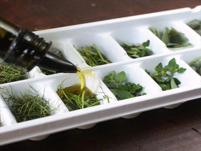 Cubos de ervas aromáticas