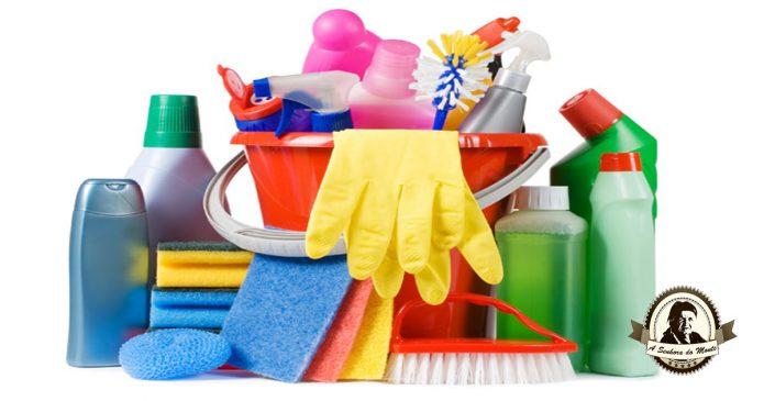 Manutenção de equipamento de limpeza