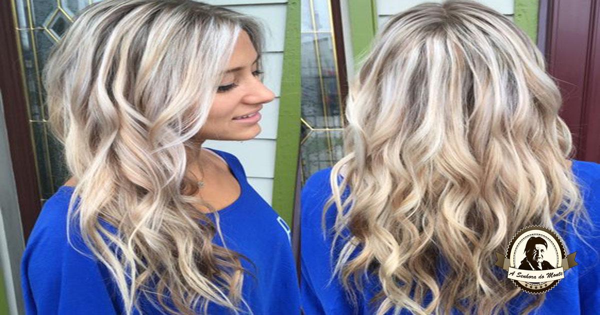 Solução natural para realçar cabelos loiros