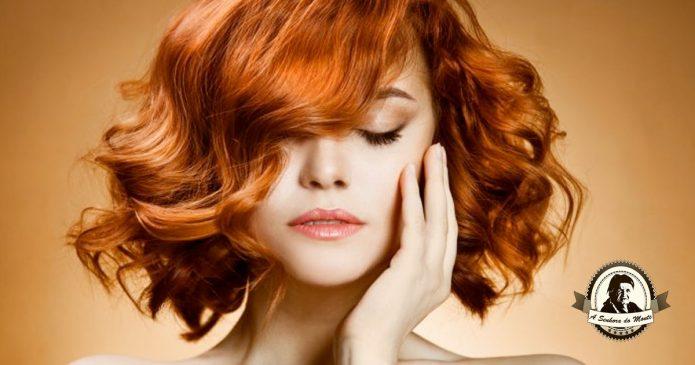 Solução para realçar cabelos ruivos