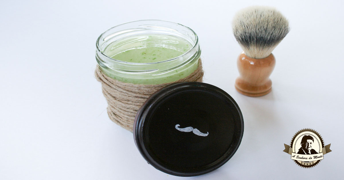 After shave caseiro