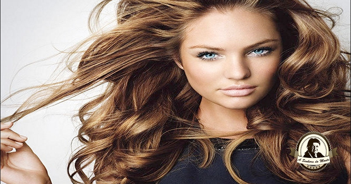 Solução para realçar cabelos castanhos