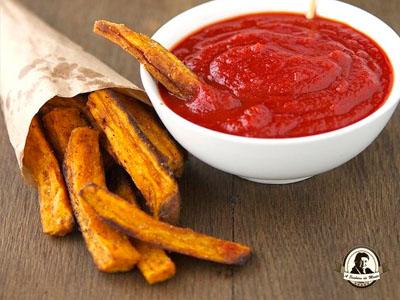 Preparação de ketchup caseiro