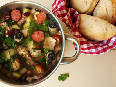 Receita da sopa da pedra
