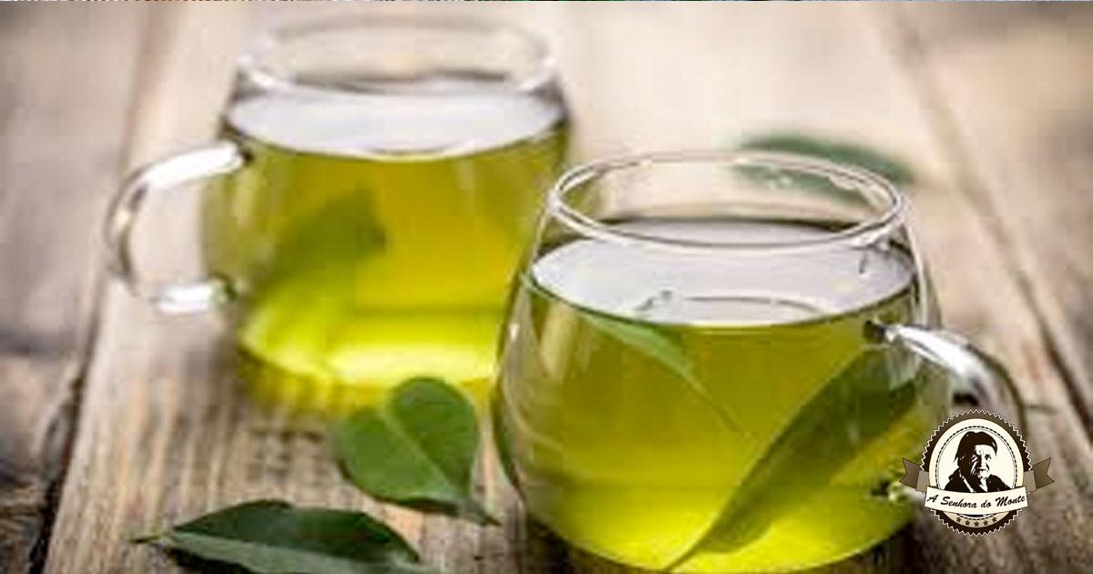 Chá de folhas de laranjeira para ansiedade e nervosismo