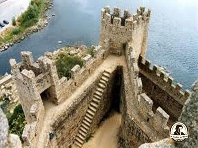 Vista do Castelo de Almourol