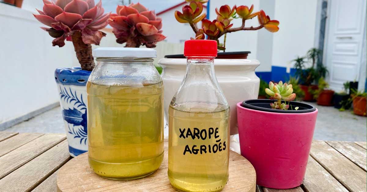 Aprenda a fazer xarope caseiro de agriões e mel para a tosse