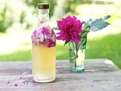 Vinagre aromático para banhos de imersão
