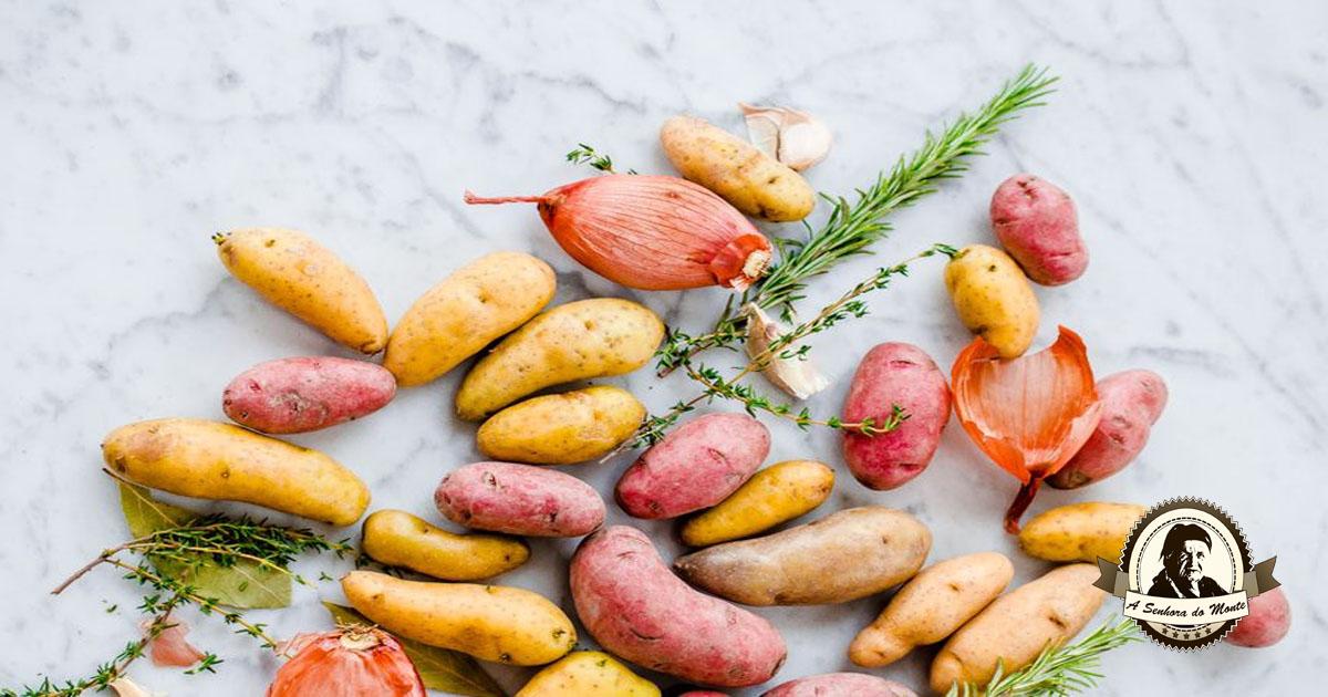 Propriedades e indicações terapêuticas das batatas