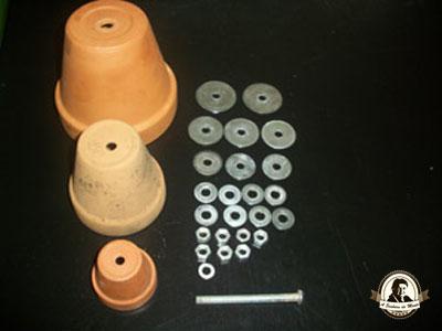 Material para fazer um aquecedor artesanal