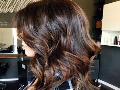 Tratamento para cabelos castanhos