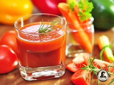 Benefícios do sumo de tomate