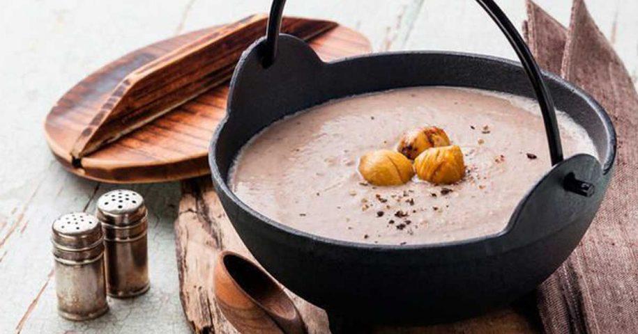 Aprenda a receita de sopa de castanhas