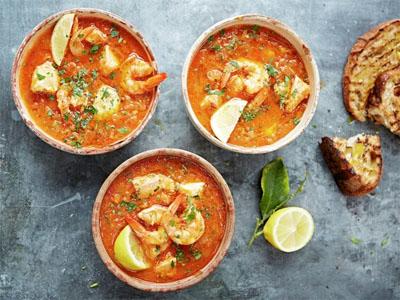 Receita de sopa de peixe