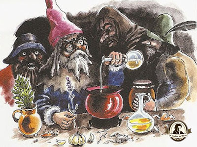 Vinagre dos quatro ladrões