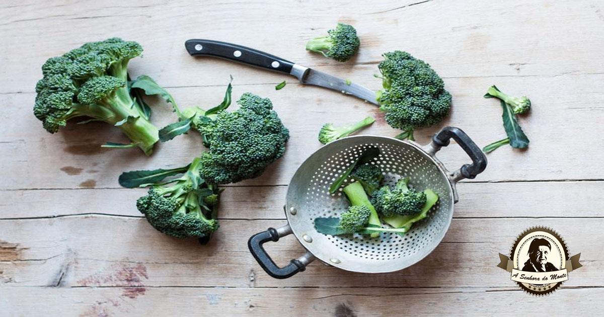Propriedades e indicações terapêuticas - Bróculos
