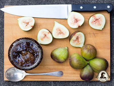 Compota de figo com maçã