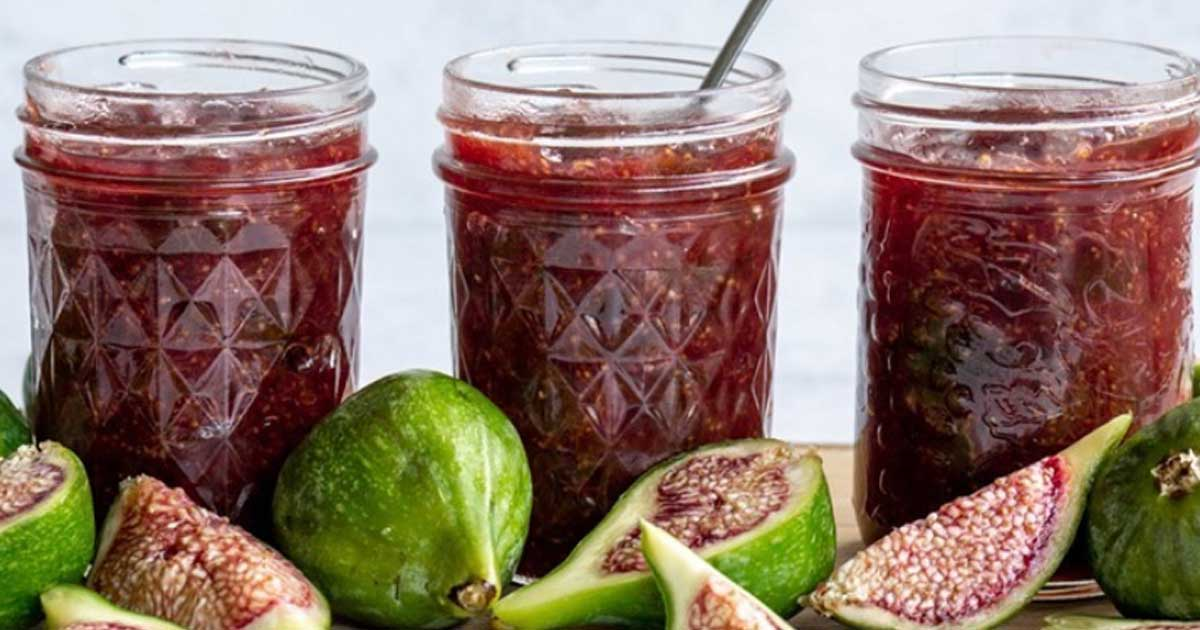 Receita de compota de figo com maçã e especiarias