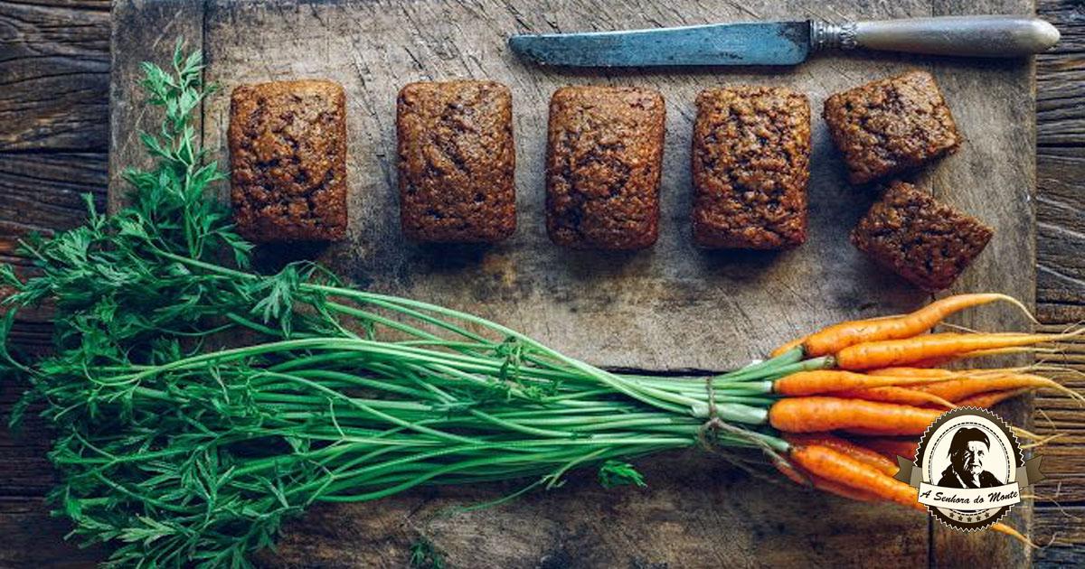 Sabia que a rama de cenoura é comestível?