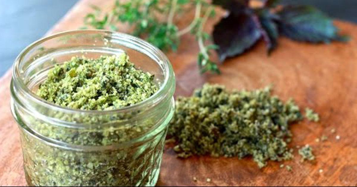 Sal verde - Substituto saudável do sal