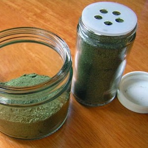 Substituto de sal caseiro