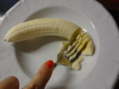 Panqueca de banana e ovos