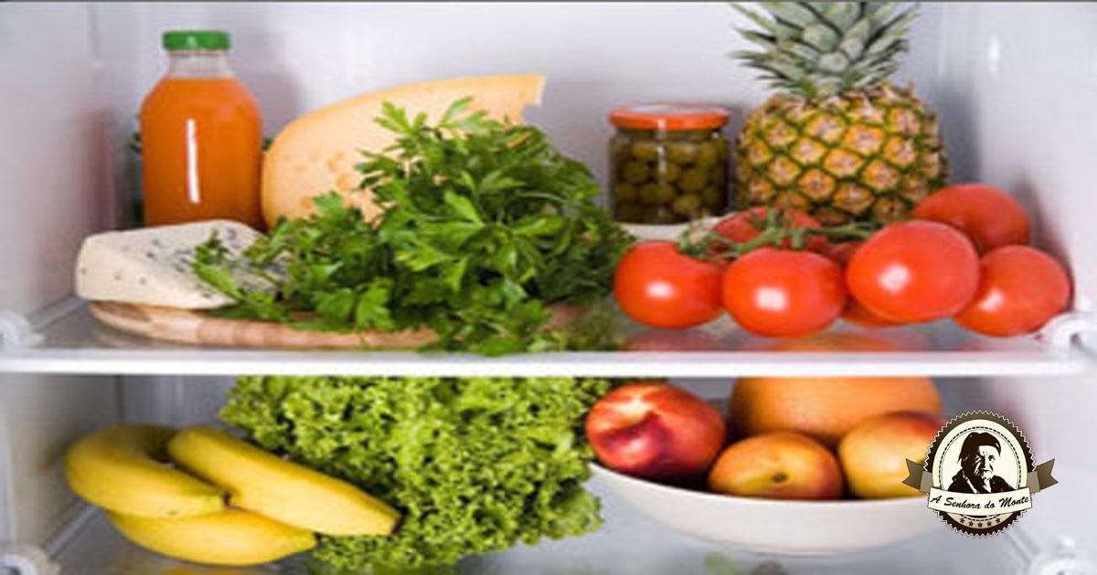 Como armazenar frutas e vegetais durante um mês