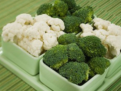Bróculos e couve-flôr