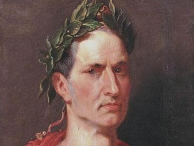 Coroa de louro de Júlio César