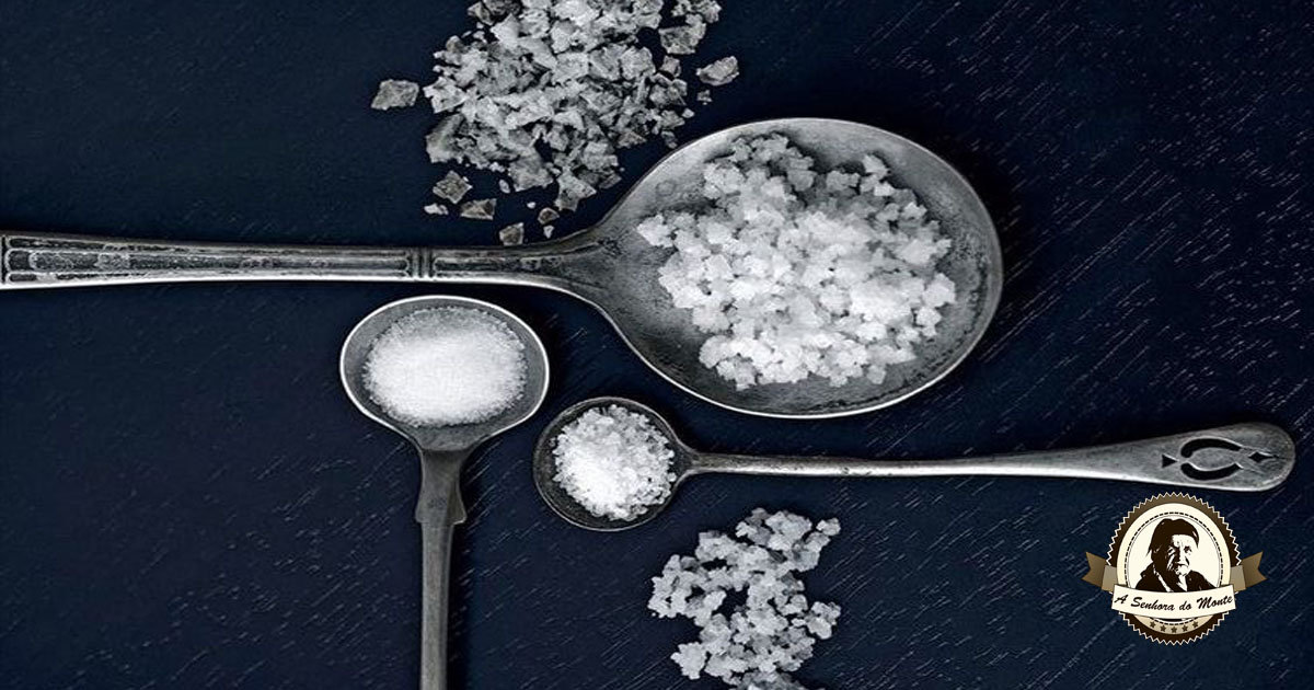 Diversas utilidades do sal