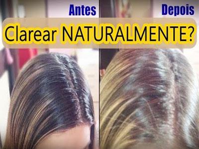 Aclare os seus cabelos de forma natural