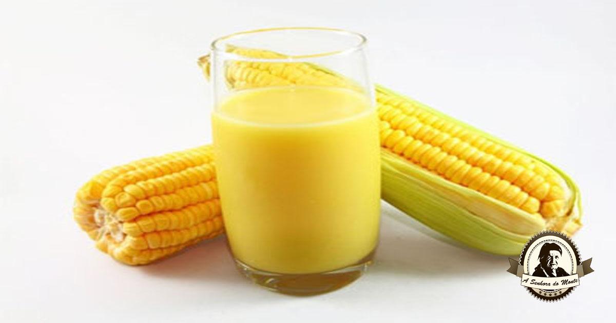 Benefícios do sumo de milho