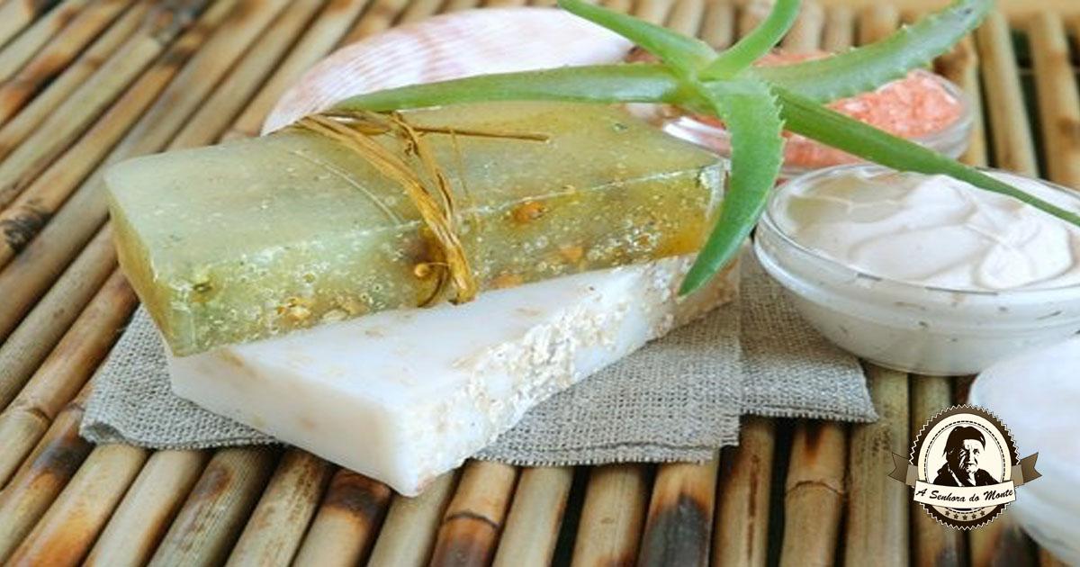 Aprenda a fazer sabonete de aloé vera