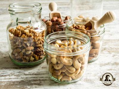 Armazenamento de frutos secos
