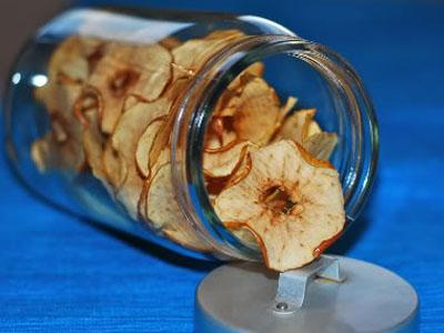 Batatas fritas de maçã