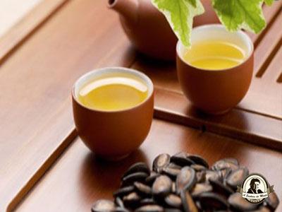 Chá de sementes de melancia