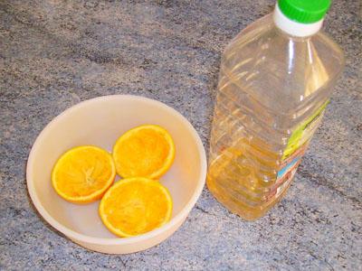 Como fazer detergente natural de citrinos com vinagre
