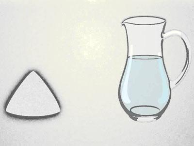 Preparação de cloreto de magnésio com água