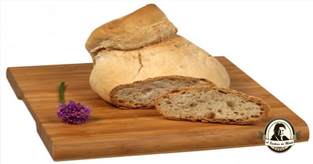 Receita de pão alentejano