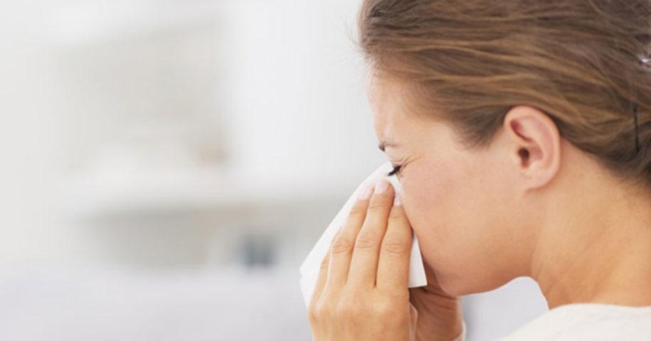 Truque natural para eliminar a rinite e a sinusite