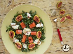 Salada de beldroegas