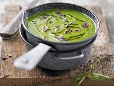 Receita de sopa de urtigas