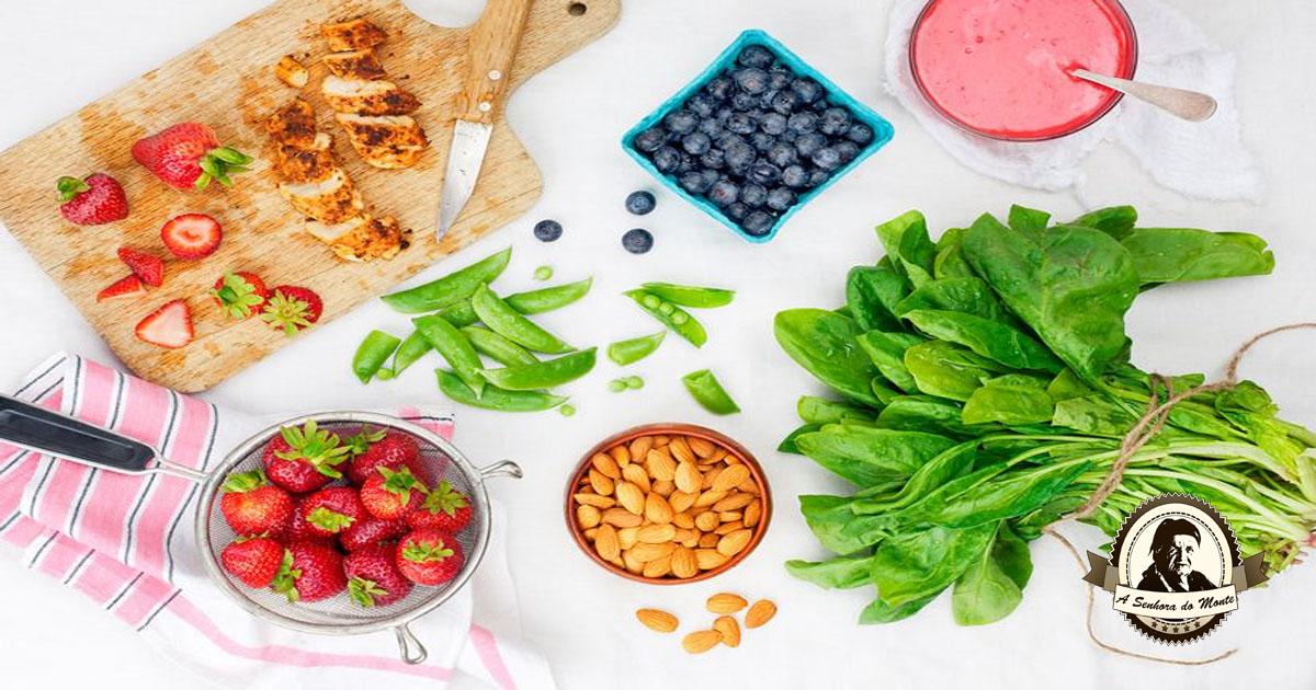 Alimentos que estimulam o funcionamento do cérebro