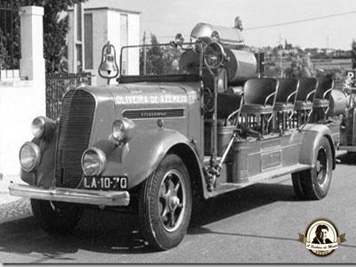História do bombeiros voluntários