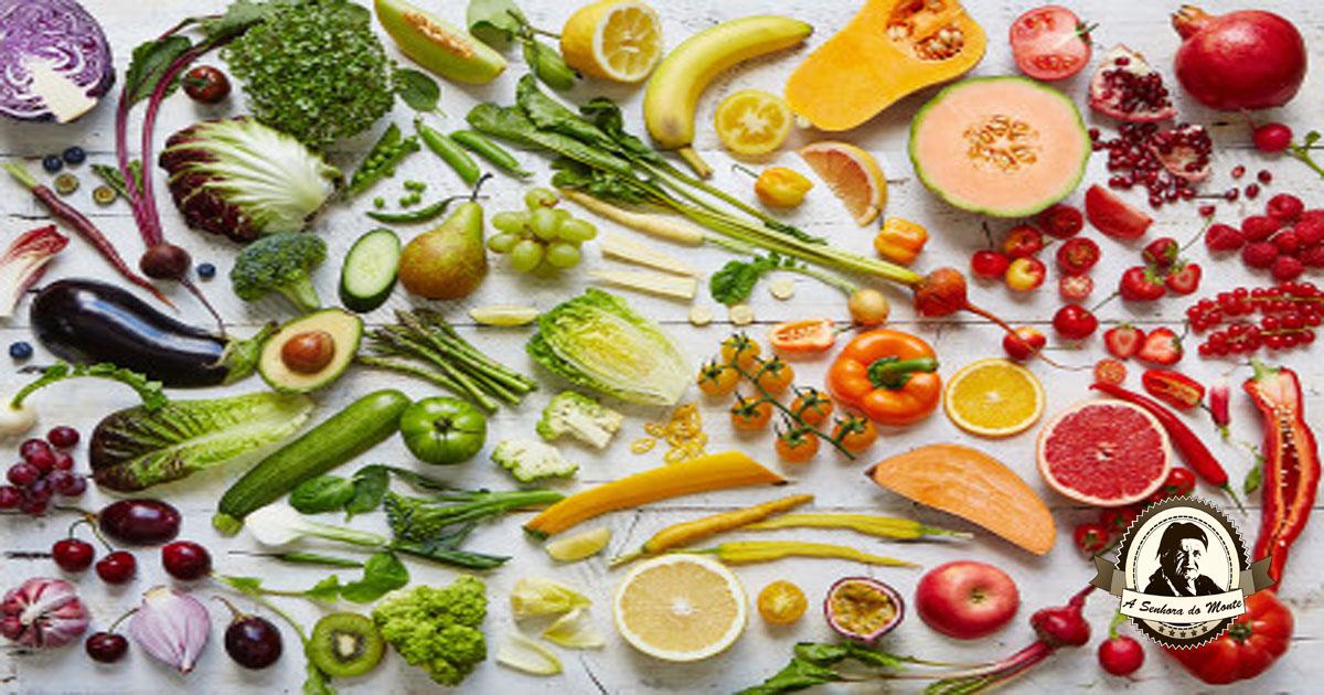 A importância e os benefícios das cores dos alimentos