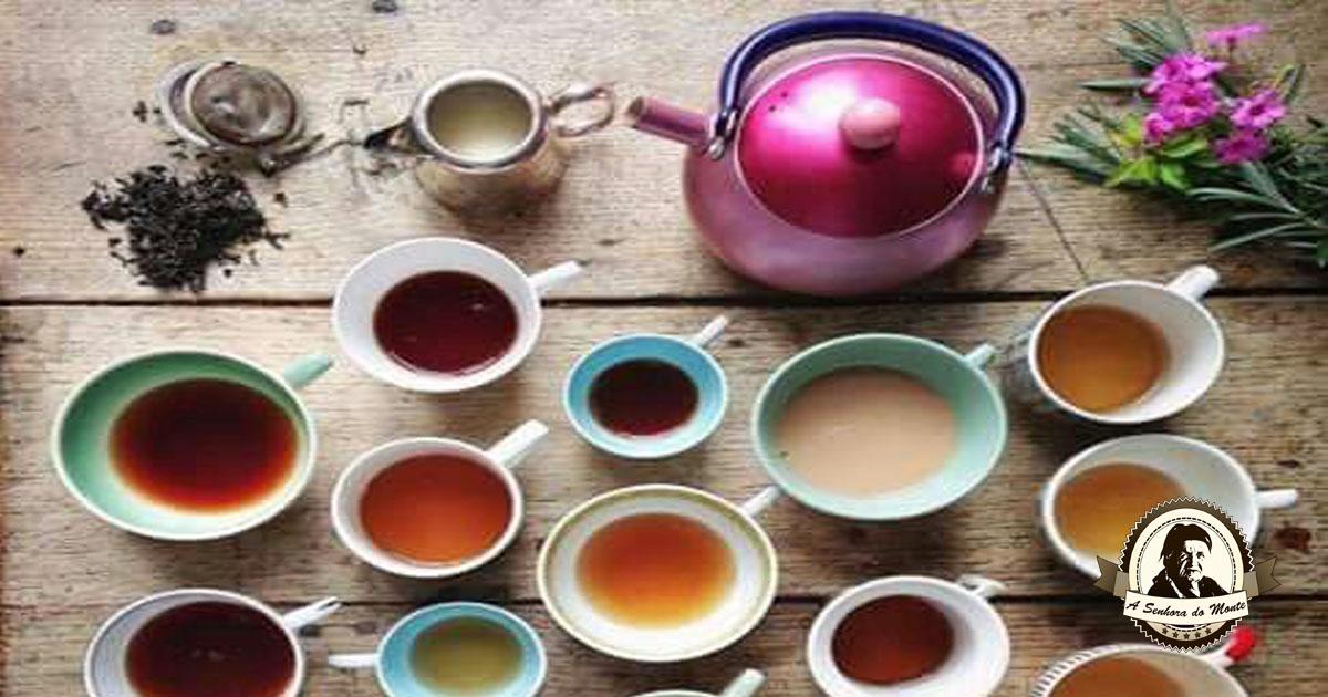 Já conhece o chá da alegria?