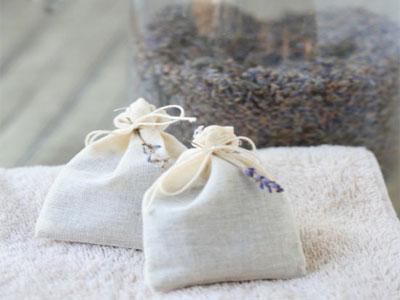 Como fazer saquinhos de alfazema
