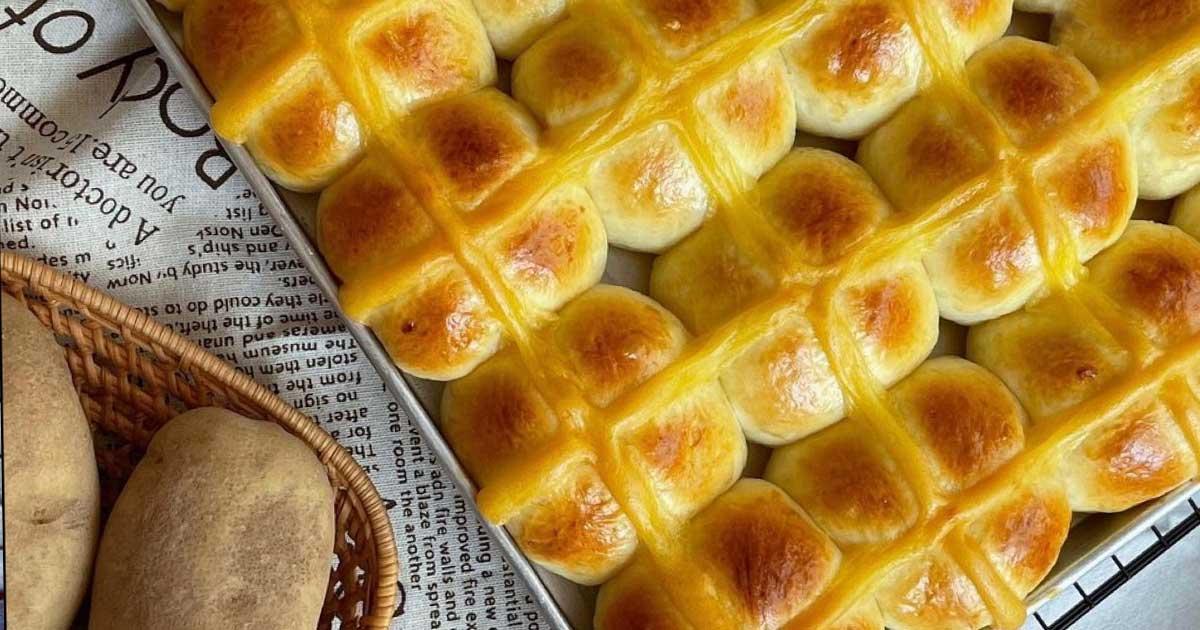 Aprenda a fazer a receita surpreendente de pão de batata