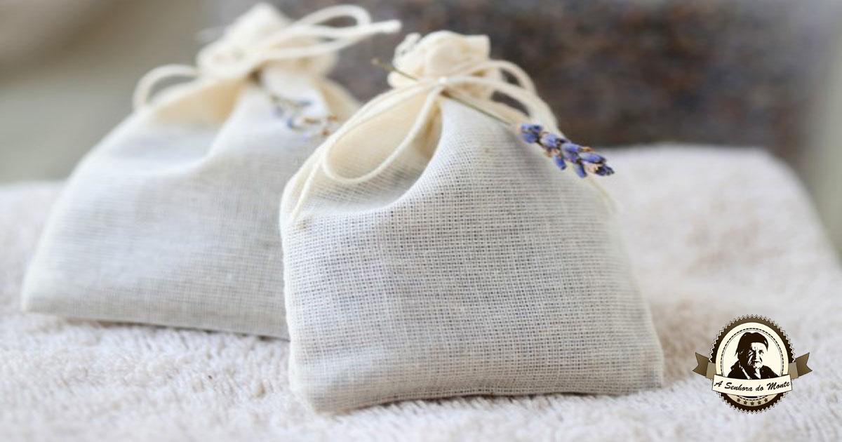 Saquinhos aromáticos de alfazema